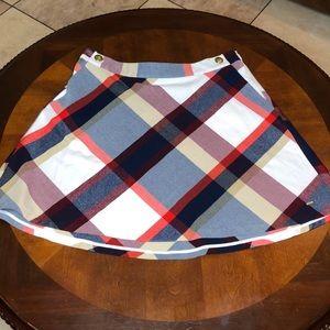 Tommy Hilfiger Plaid Circle Skater Skirt Size 12